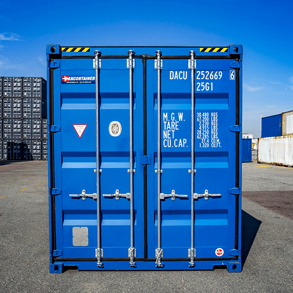 Dancontainer - isoleret container